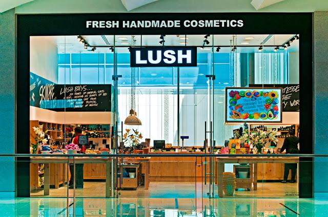 cosmetics and lush company