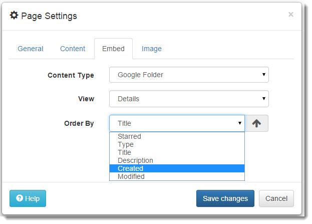 page-settings-folder-order