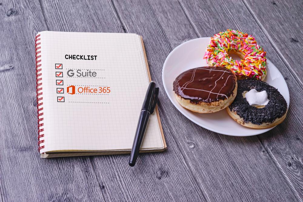 G Suite vs Office 365 (2019)